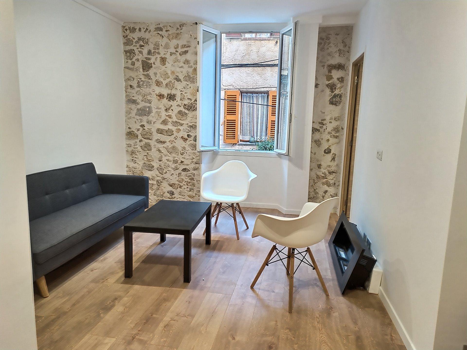 ANTIBES VIEILLE VILLE - 2 pièces 34.43 m²