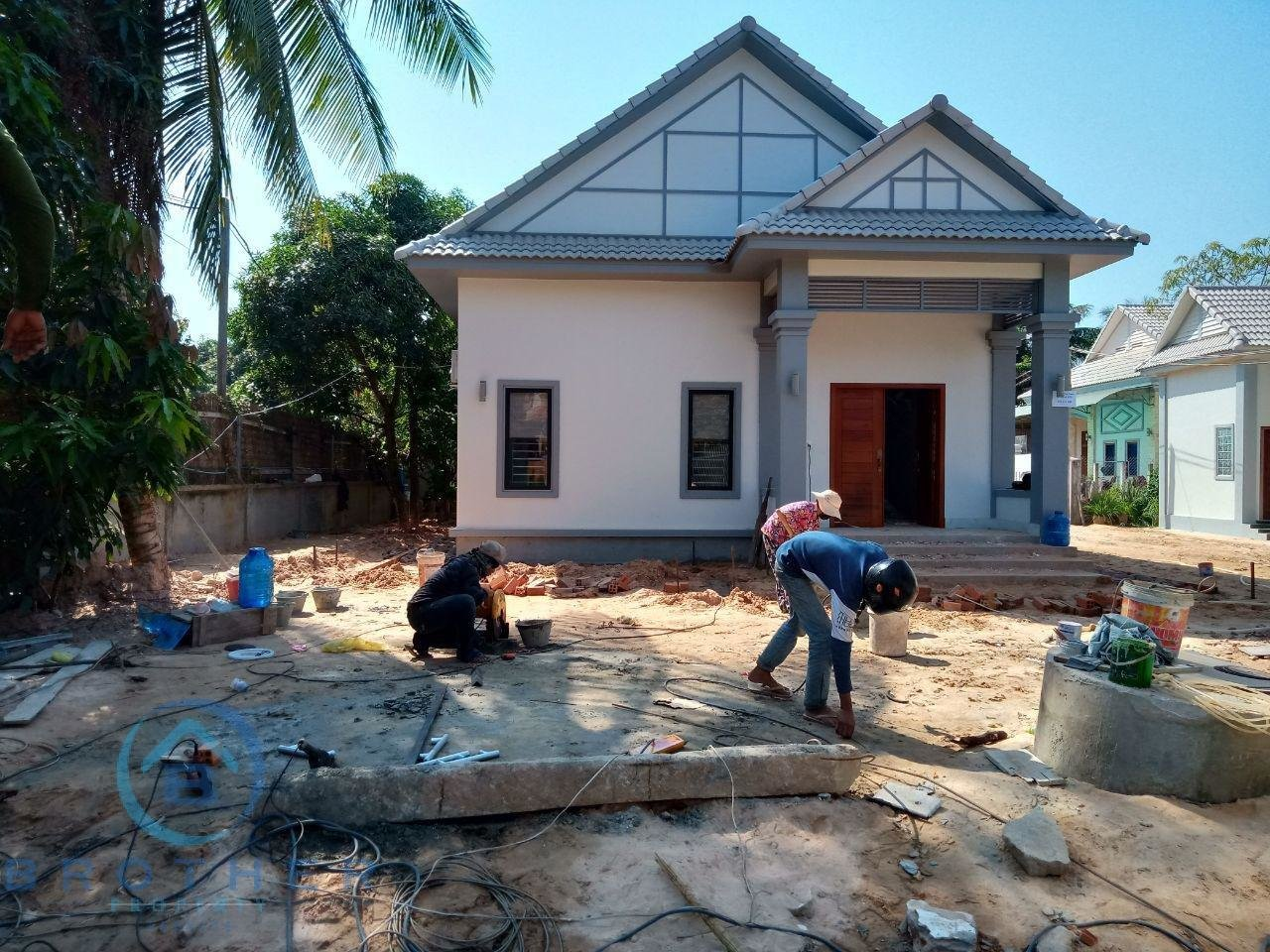 出租 房屋 Siem Reap Sala Kamraeuk