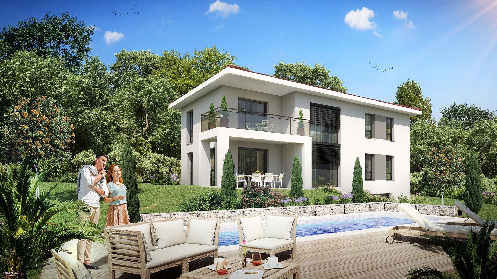 Villa comtemporaire de luxe