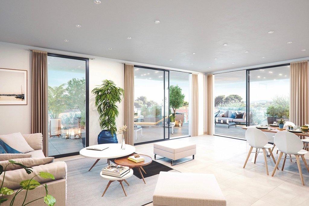 VILLENEUVE LOUBET Plage - French Riviera - 4 rooms apartment - top floor - sea view