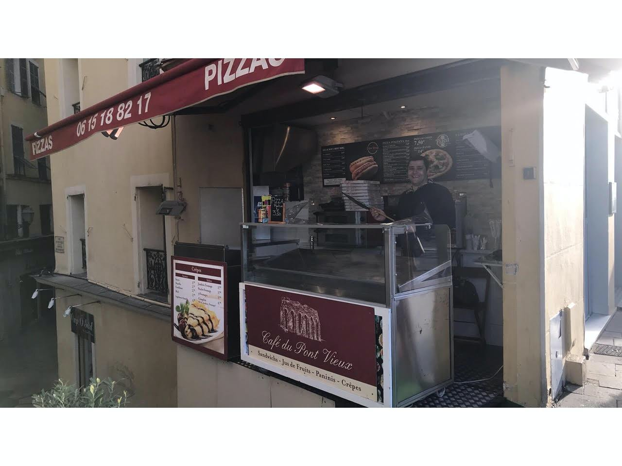 Business in old city of Nice with perfect location
