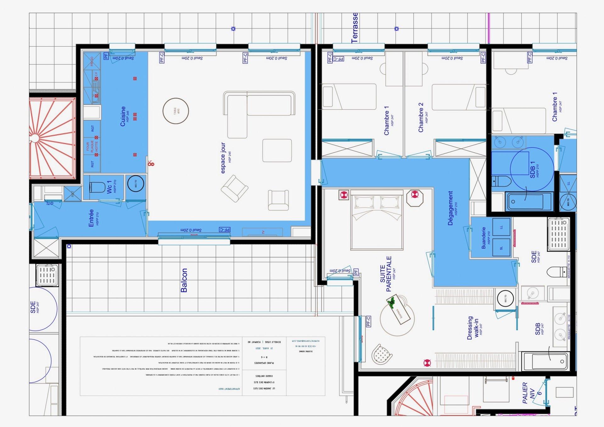 JUAN LES PINS - Prôvence-Alpes-Côte d'azur - vente appartement neuf - dernier étage - proche mer