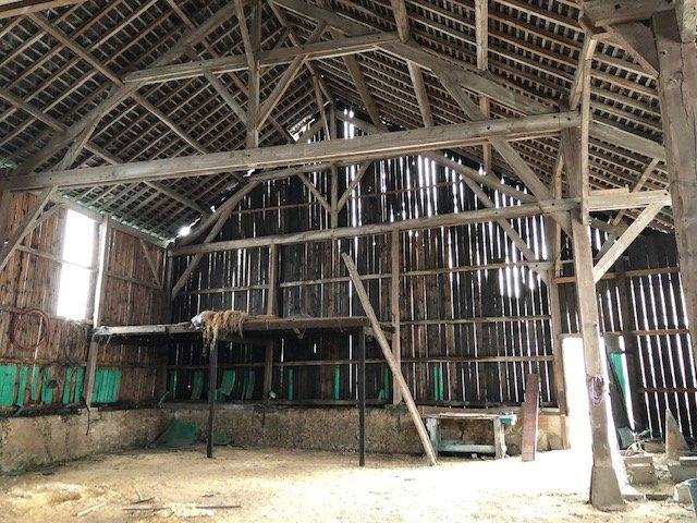 Grange ossature bois - Savigné sur lathan