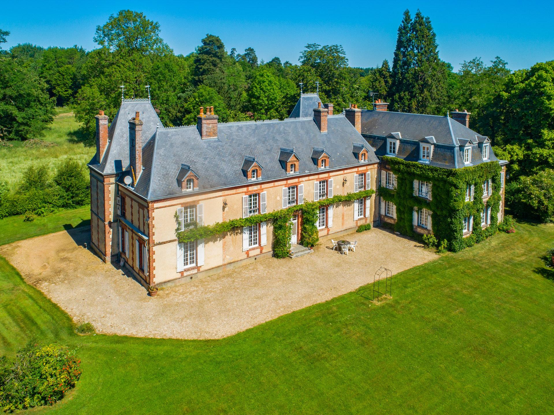 NORMANDIE - Château du XVIIème siècle