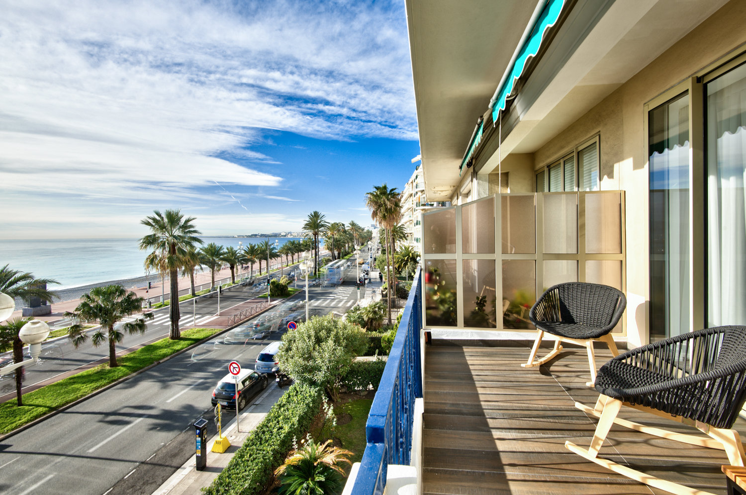 Luxury 2-bedroom with terrace - Nice Promenade des Anglais