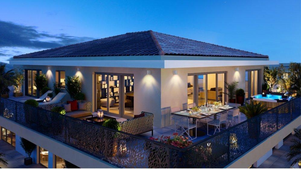 Appartements neufs dans une résidence exclusive sur la Pointe Croisette à Cannes