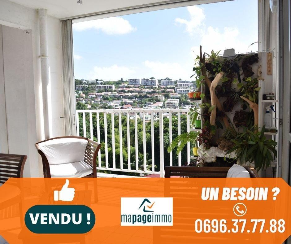 Vends Appartement T4 + Garage, Fort-de-France