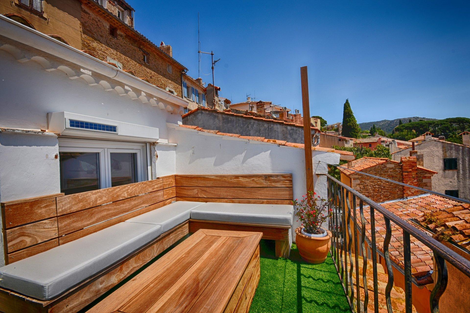 Bormes Village - Maison avec patio et terrasse