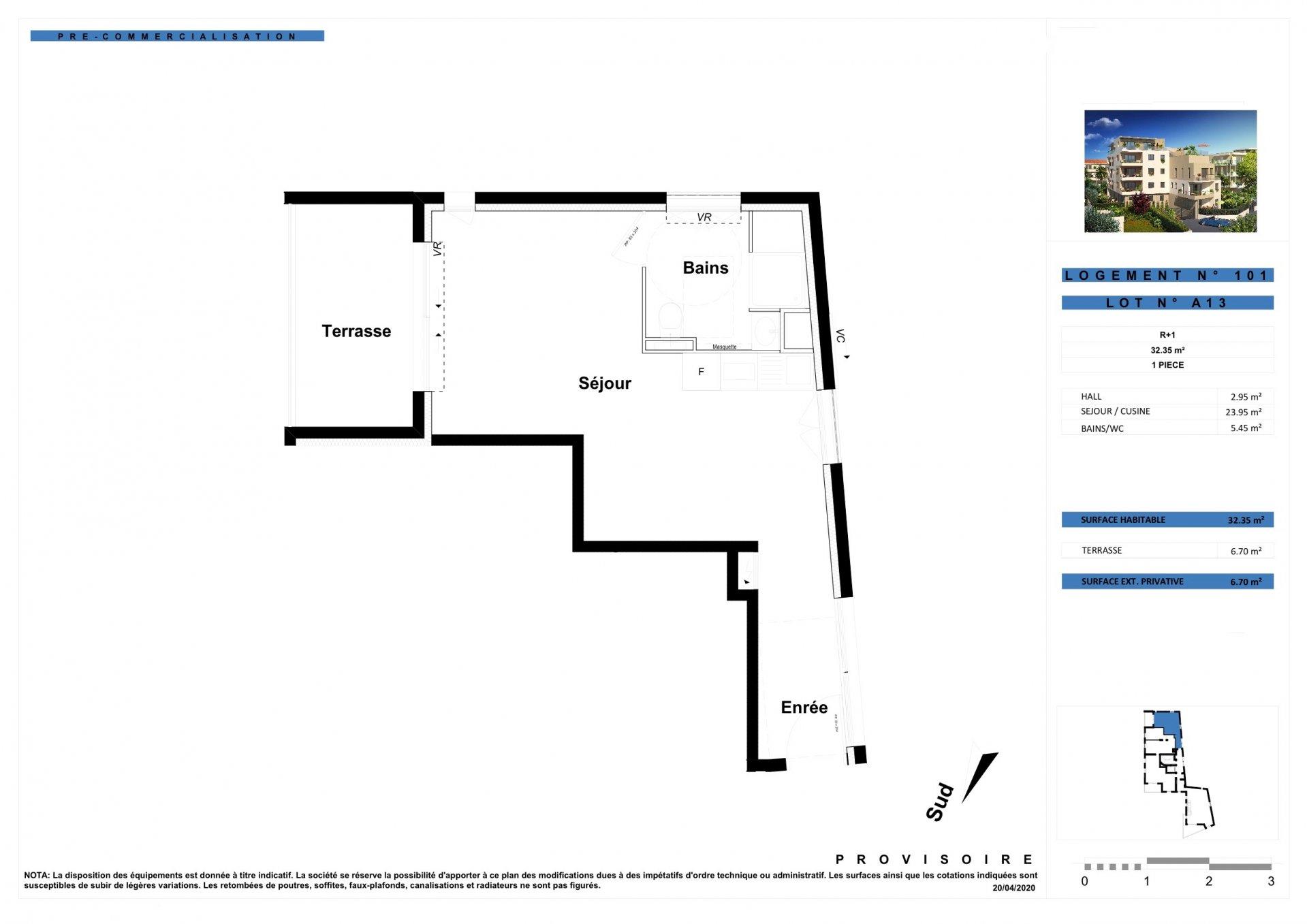 ANTIBES/JUAN-LES-PINS - Région PACA - vente appartement neuf - proche plages