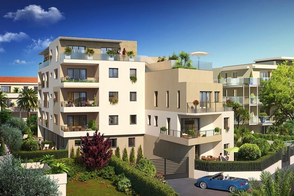 ANTIBES/JUAN-LES-PINS - French Riviera - One bed investment  -  near beaches