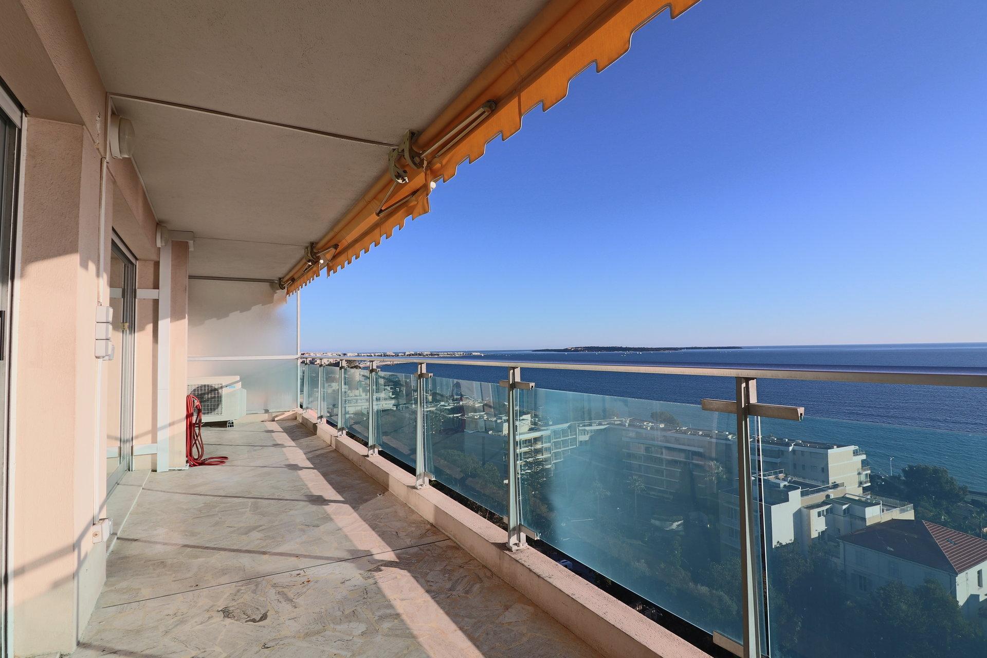 4pièces vue mer panoramique