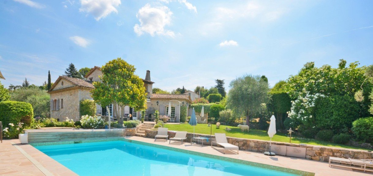 Purchase / sale villa in Grasse, 15min Cannes
