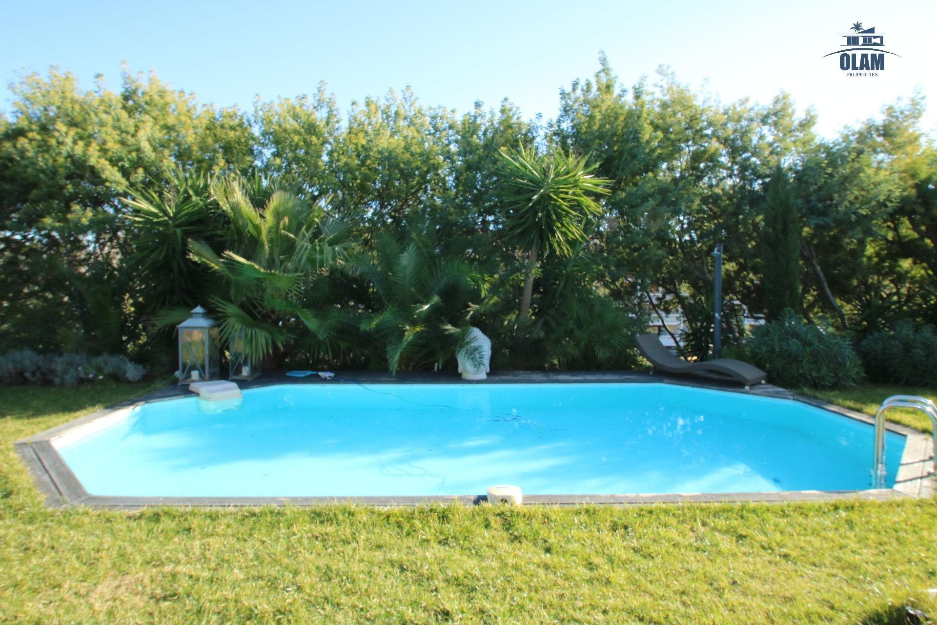 Piscine, villa, Cannes, Jardin, Croisette, Croix des Gardes