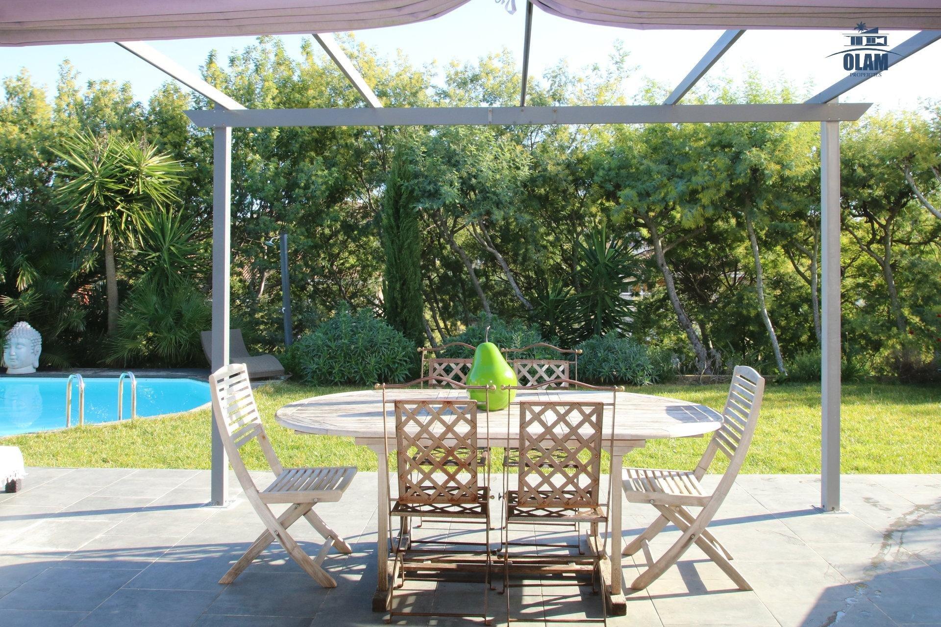 Villa, Cannes, jardin, piscine Croix des Gardes, Côte d'Azur