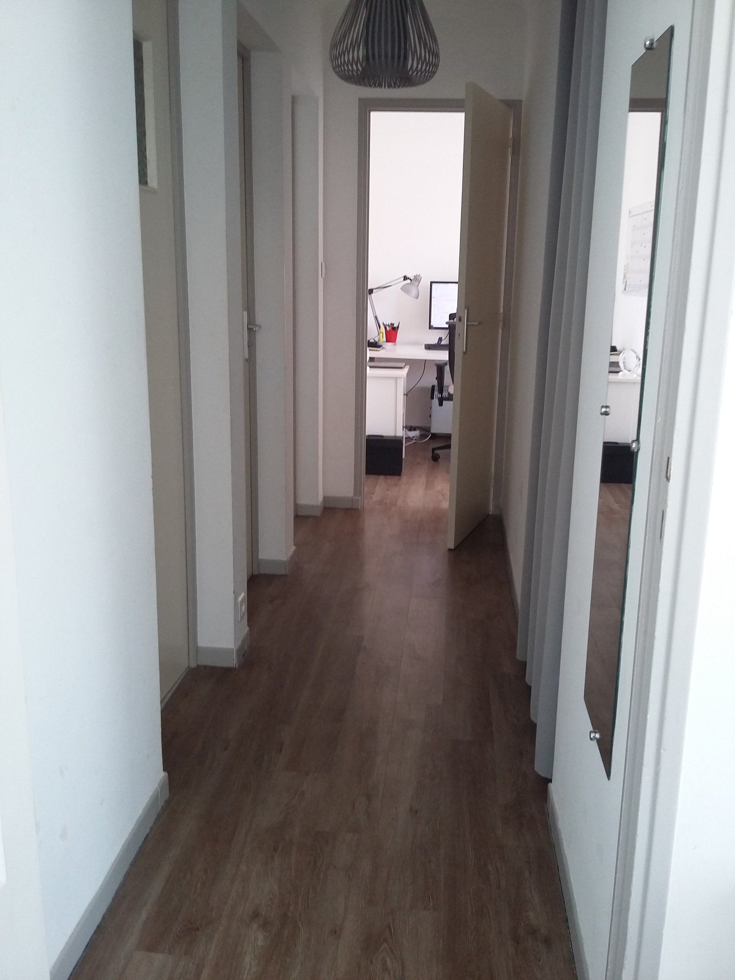Appartement T3 .Balcon et grenier.