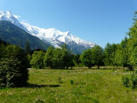Land buildable- Close to center of Chamonix.