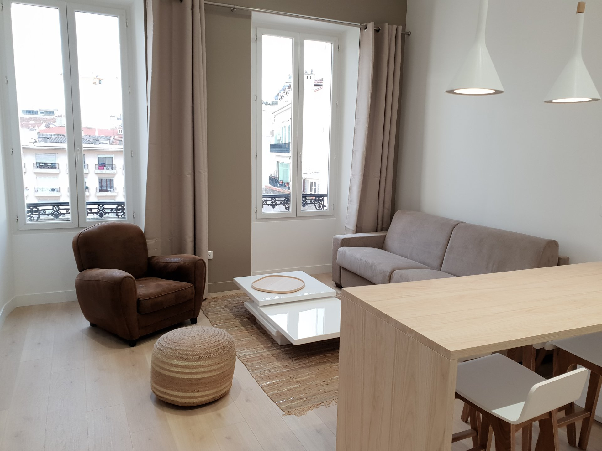 congress rental apartment 1 bedroom in Cannes 200m from the Palais