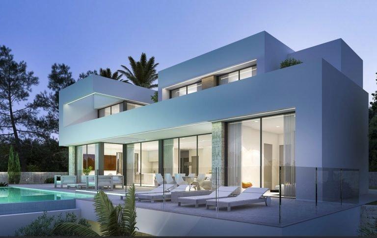 Luxe woning gebouwd op een prachtig perceel