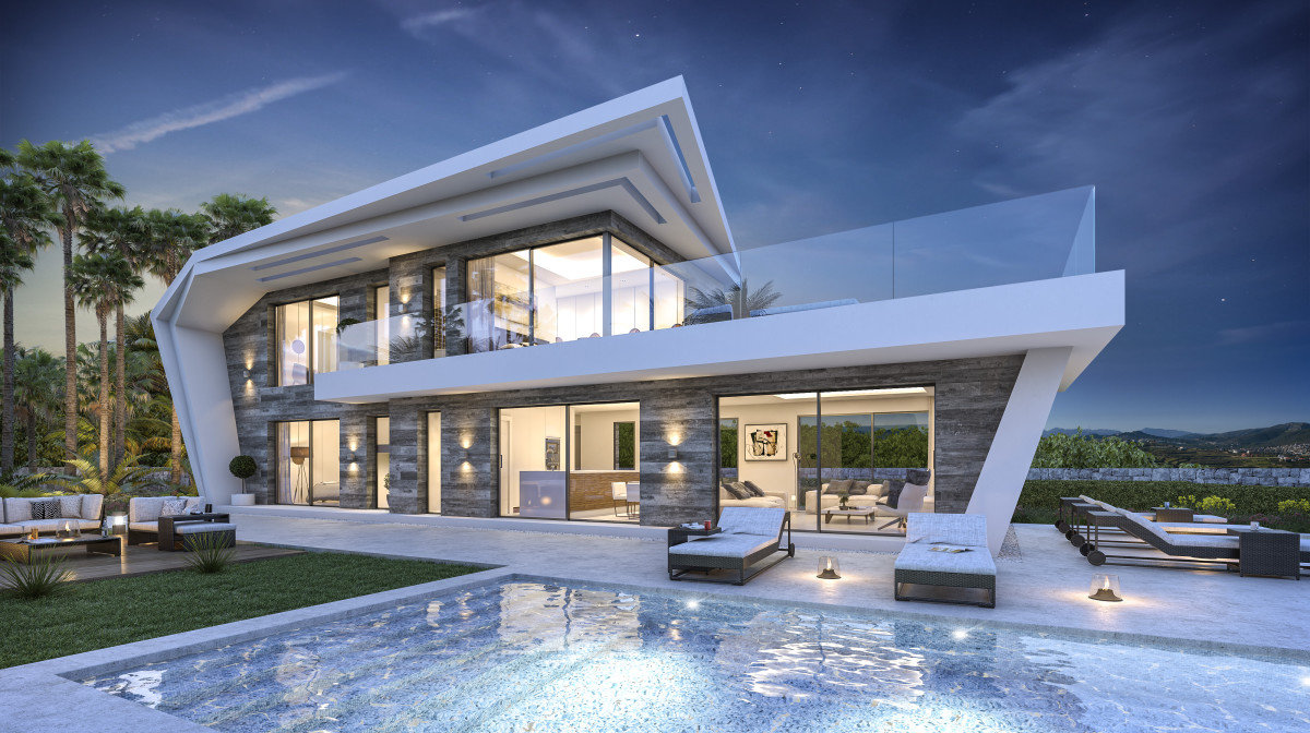 Superbe villa avec de belles vues