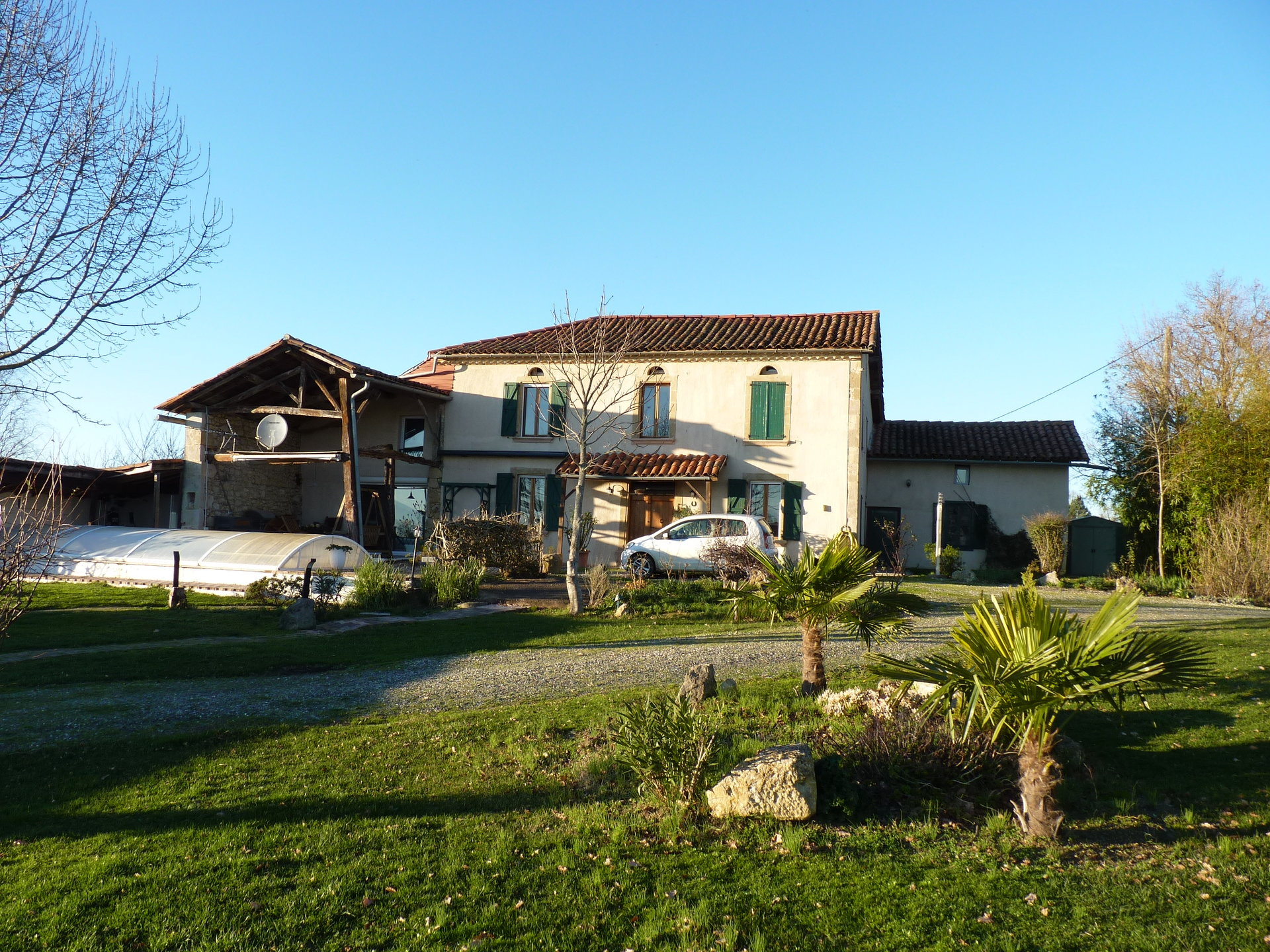 DROP OF PRICE!!Panoramic view, renovated T6 farmhouse swimming pool, sauna