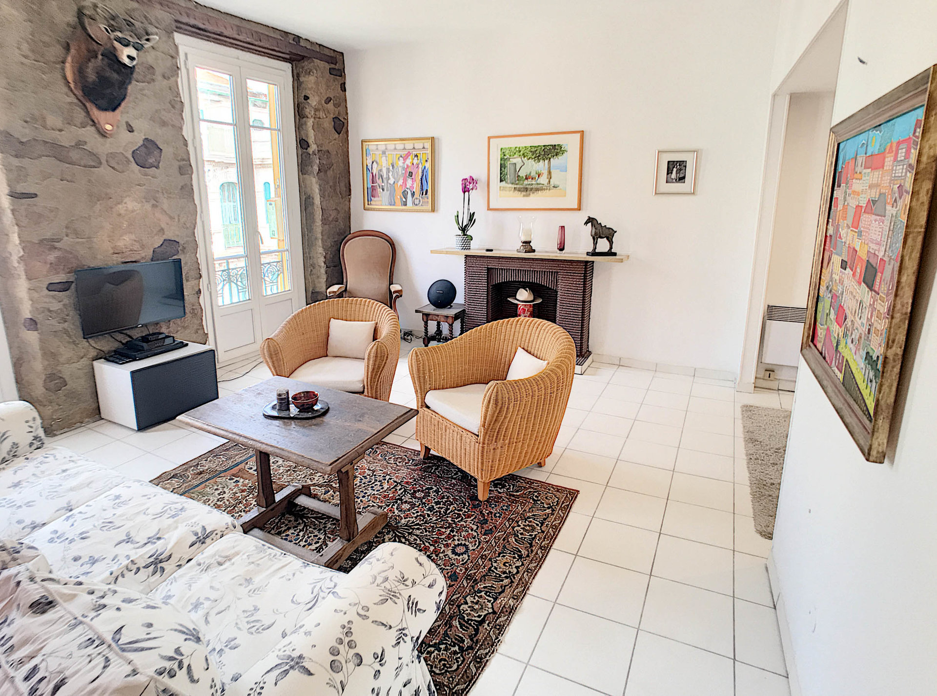 SALE Apartment 3 Rooms Nice Carré D'Or Close Sea Top Floor