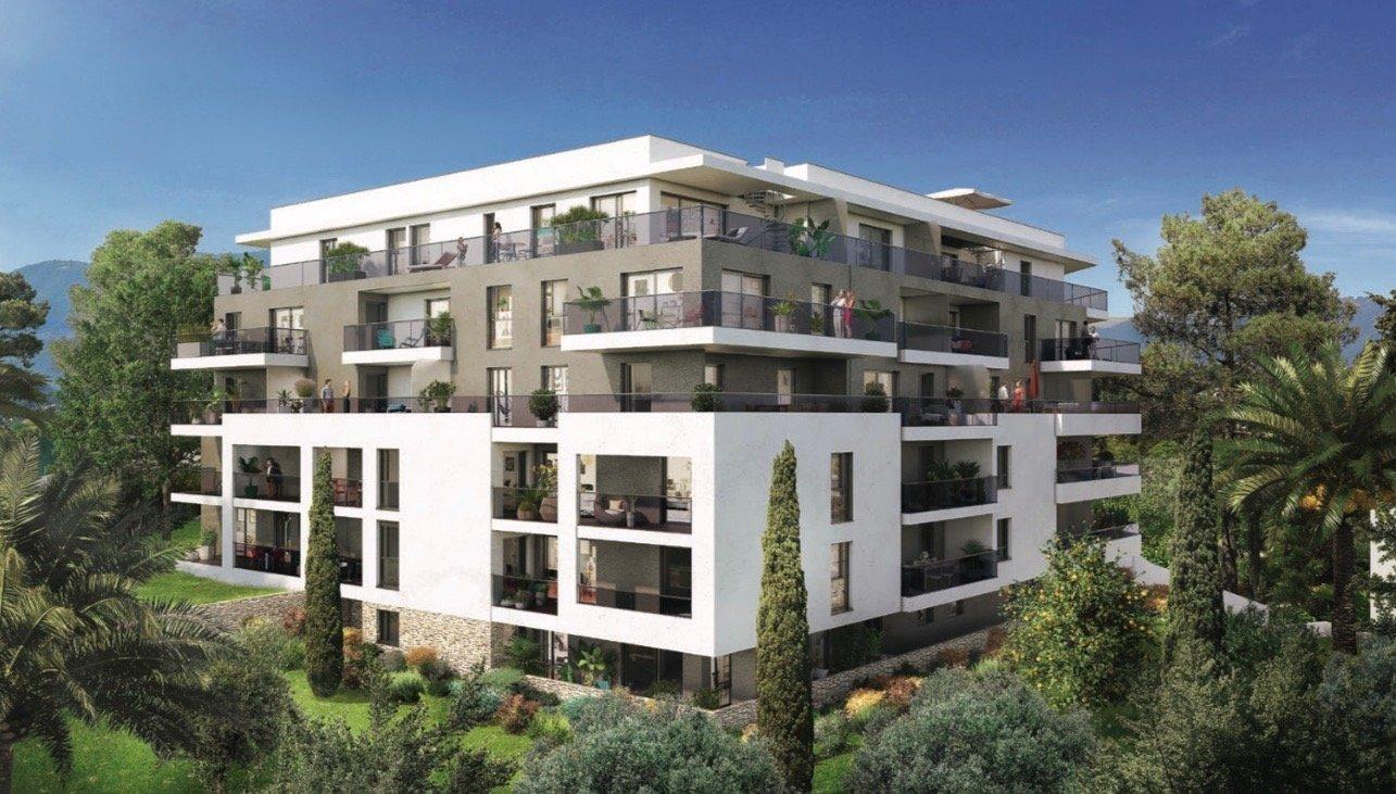 ANTIBES - Région PACA - vente appartement neuf - proche technopôle de Sophia