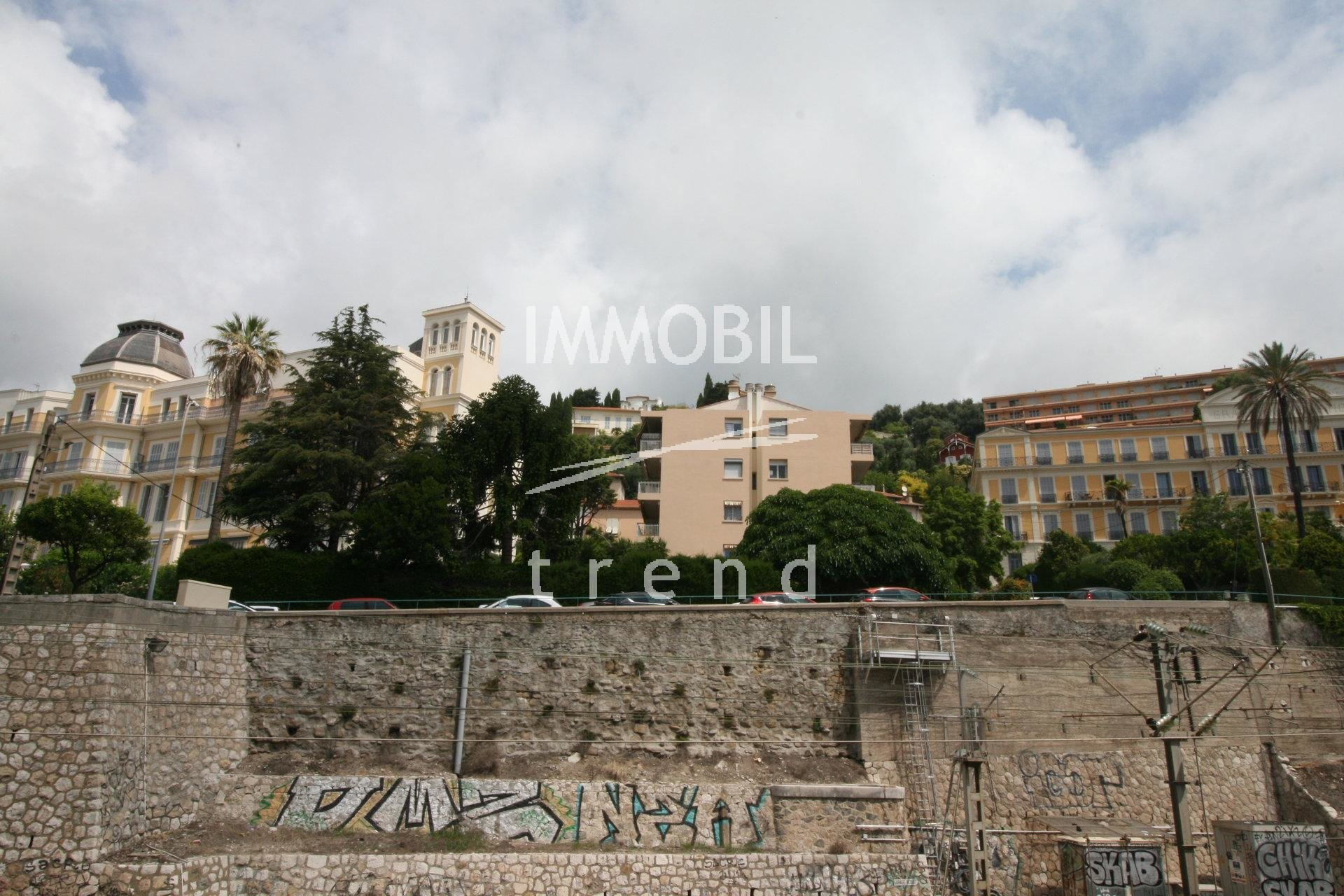 MENTON CENTRE/CASINO - STUDIO FOR SALE WITH NICE OPEN VIEW