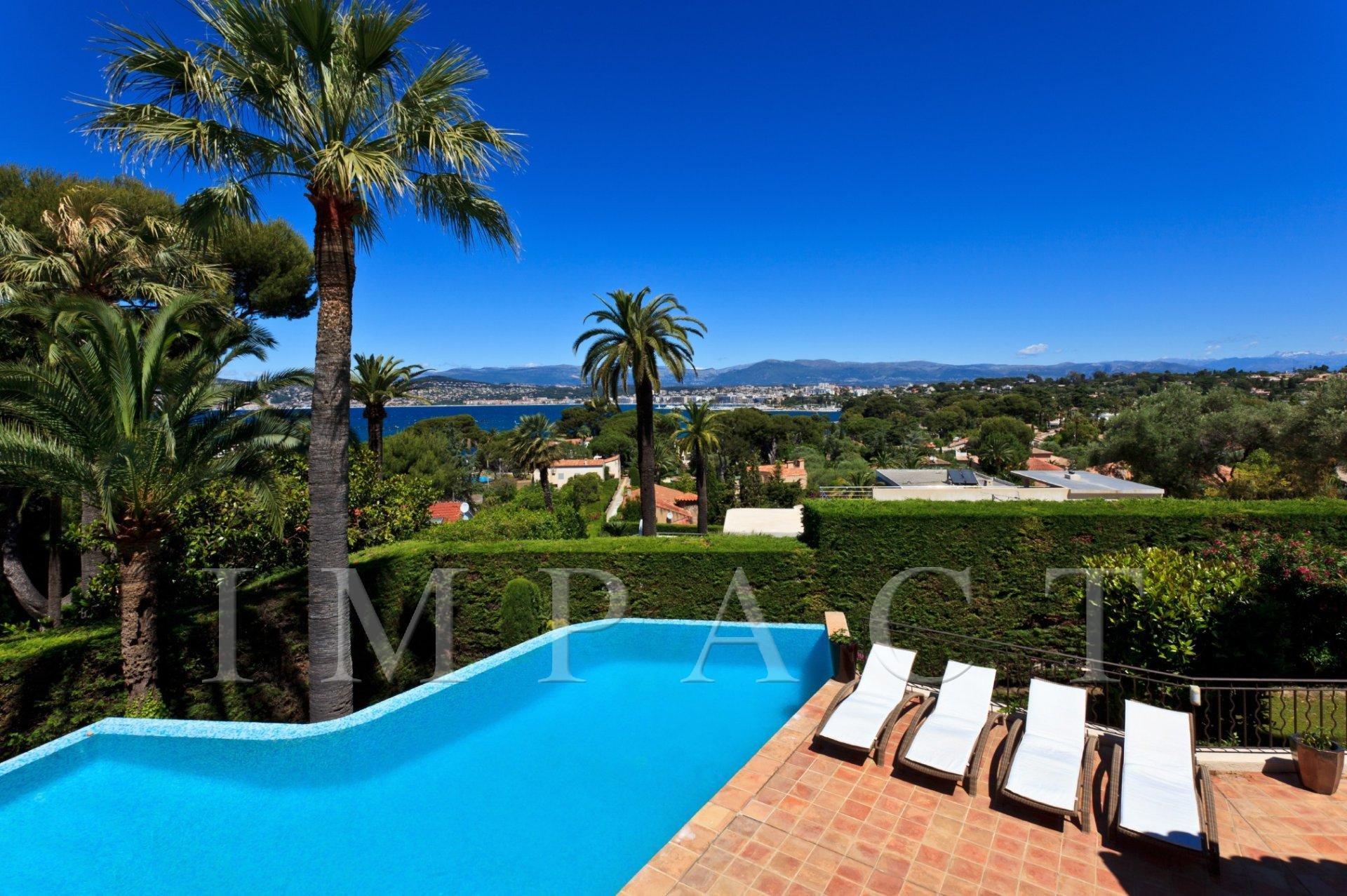 Magnifique Villa à louer vue Mer au Cap D'Antibes