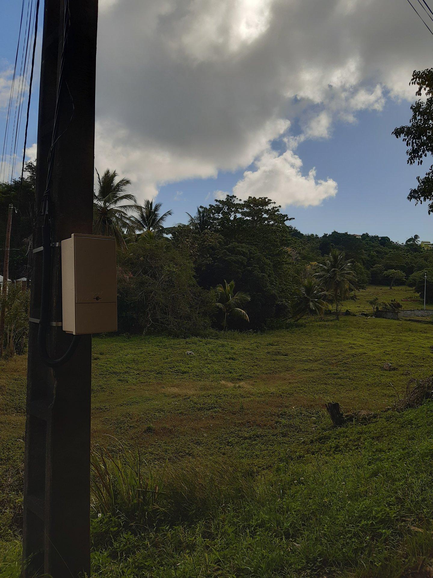 terrain plat viabilisé 2000 m2 le gosier guadeloupe