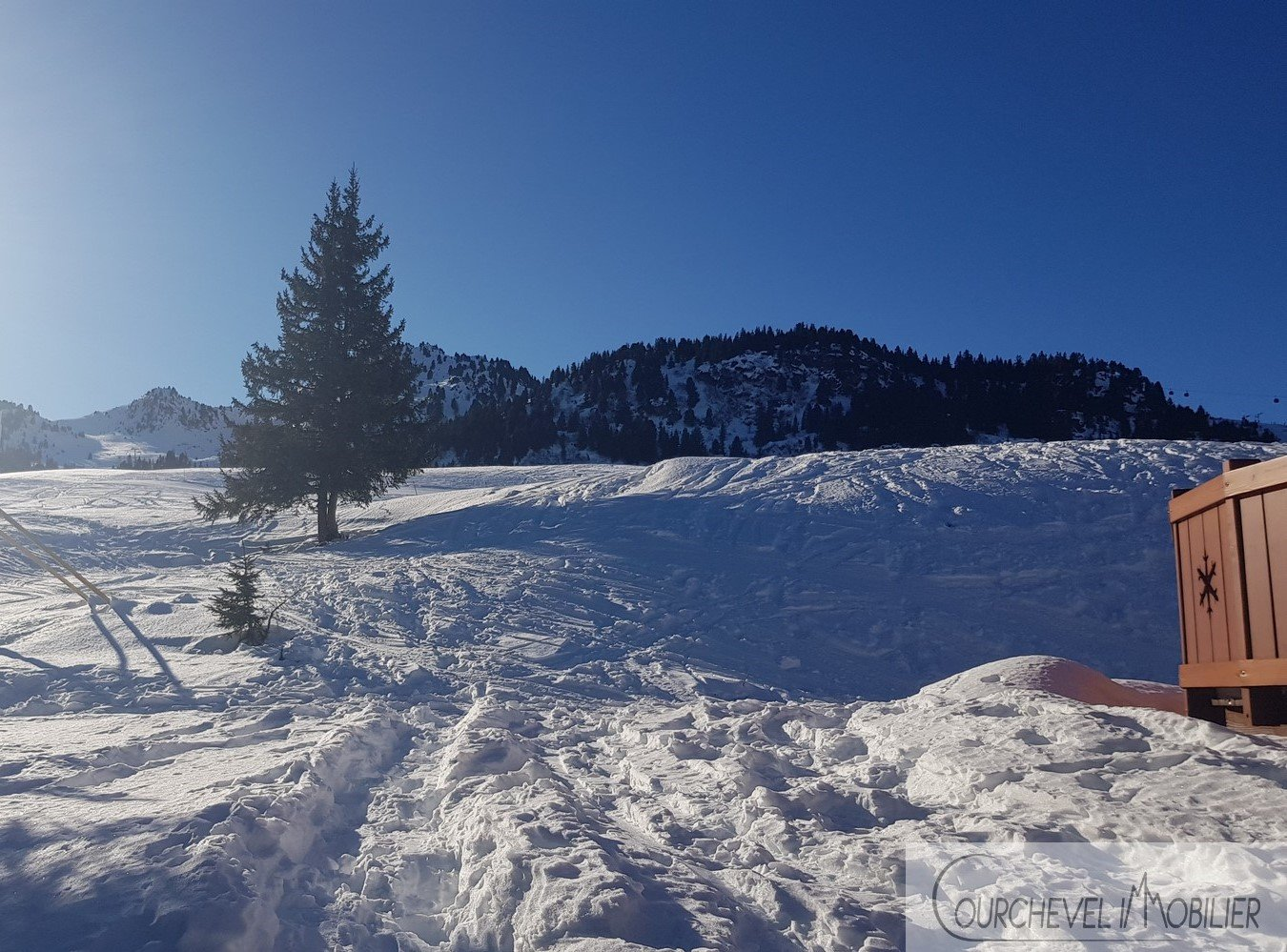 Building Plot in an exceptional area of Courchevel