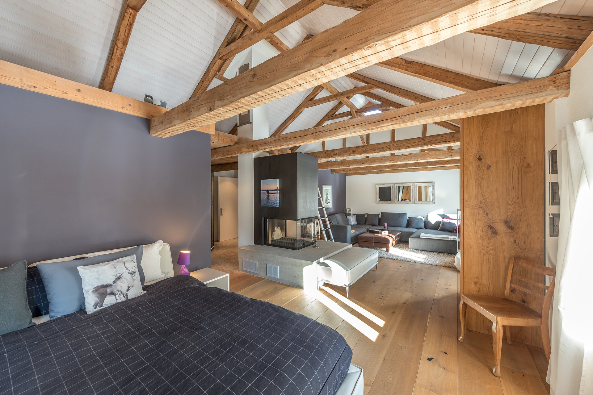 Mountain house for sale in Scoul - master bedroom