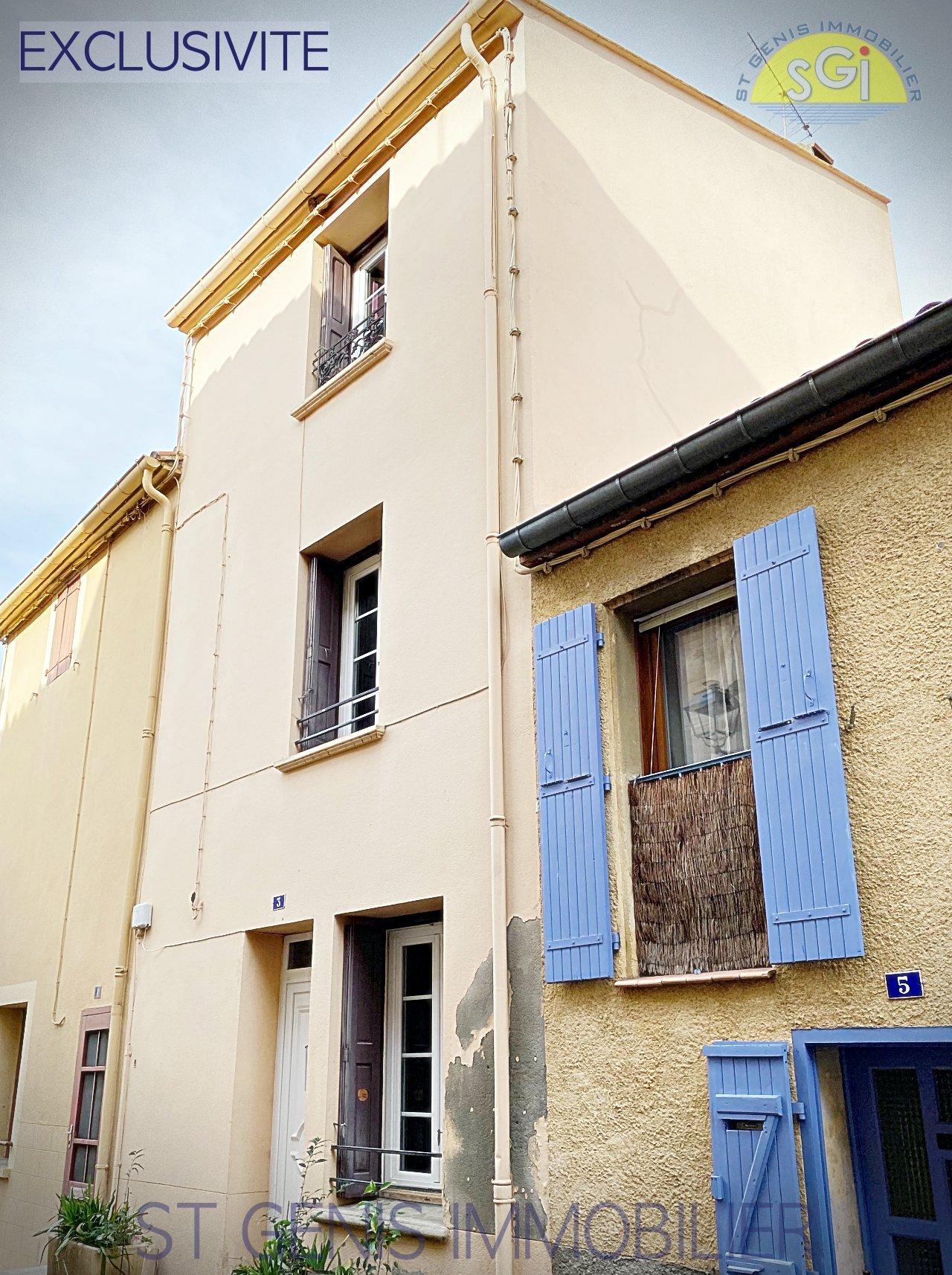 Maison de village à Saint-génis-des-Fontaines