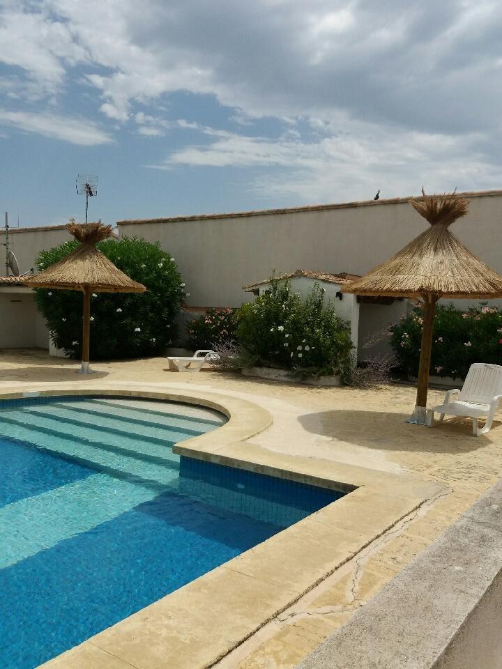 Appartement de standing avec piscine