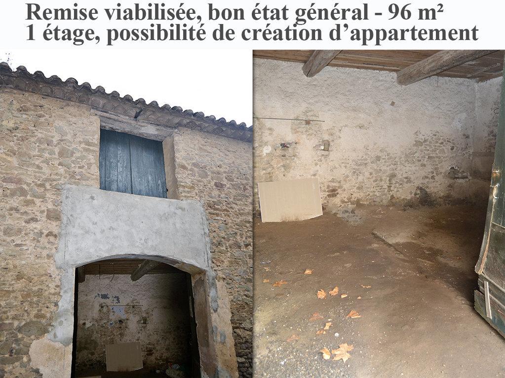 Remise 96 m² viabilisée