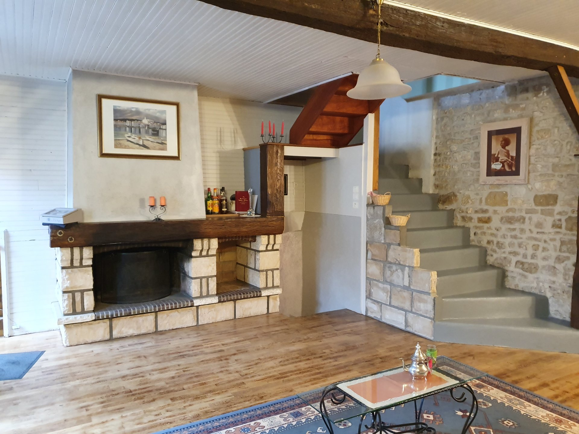 Montigny sur Loing : Maison de village 98 m2