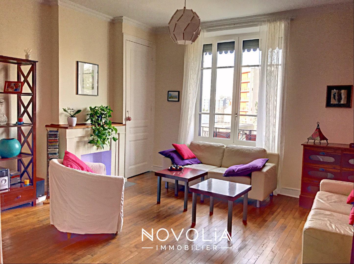 Achat Appartement Surface de 74.1 m²/ Total carrez : 74.1 m², 3 pièces, Villeurbanne (69100)