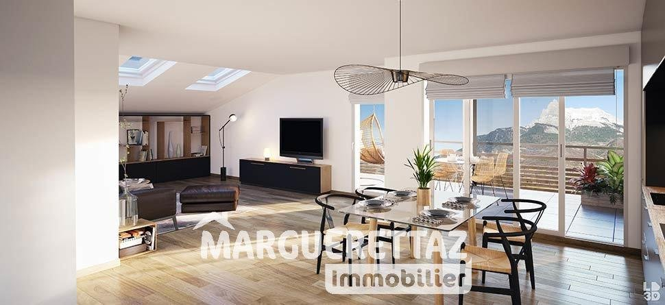 Appartement neuf du 1 au 4 pièces face au Mont-Blanc