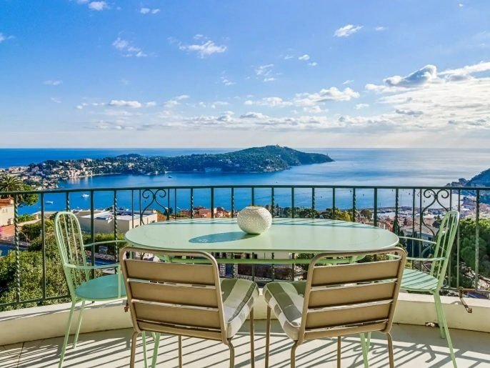 Villefranche-sur-Mer - Magnificent penthouse with panoramic sea view