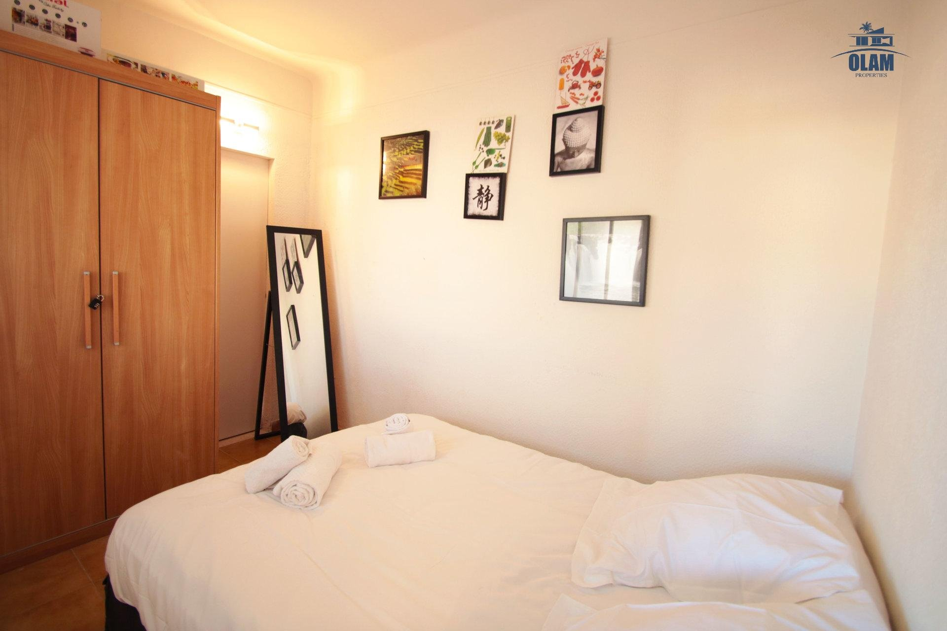 Bedroom, queensize bed, Cannes, French Riviera