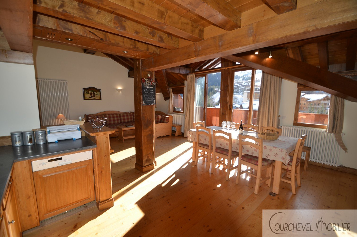 T6 apartment in Courchevel 1650