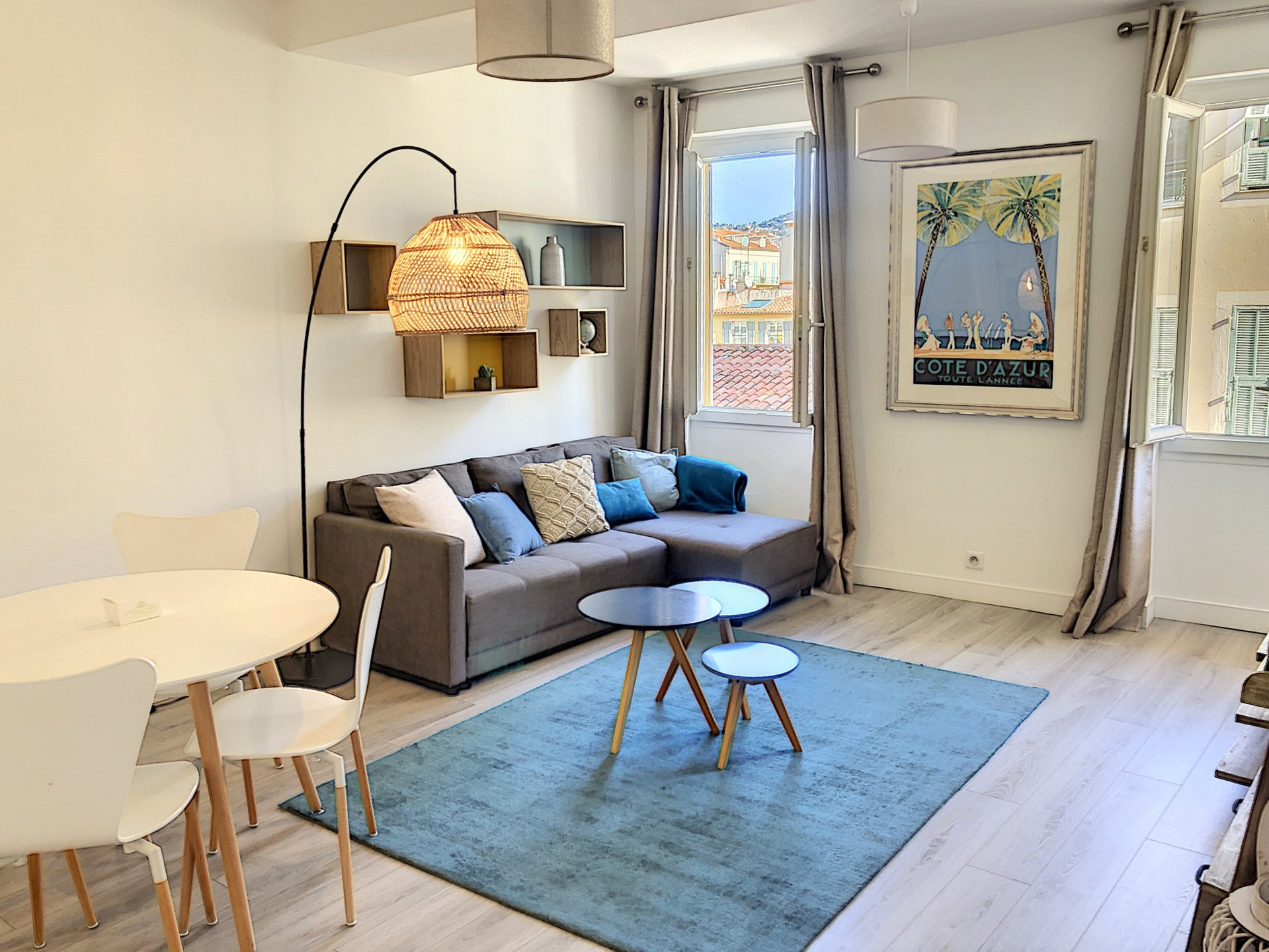 Appartement 2 pièces 44m² - NICE Carré d'or -