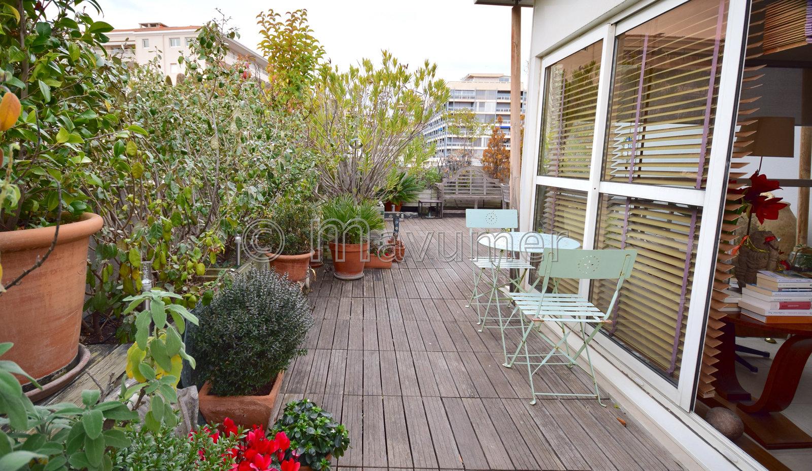 Appartement T4 avec 80 m² de terrasse Carré d'Or 13008 Marseille