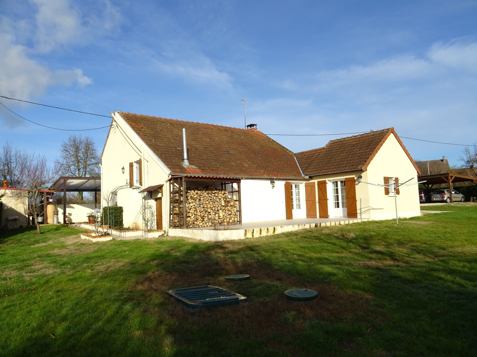 Maison dans petit hameau