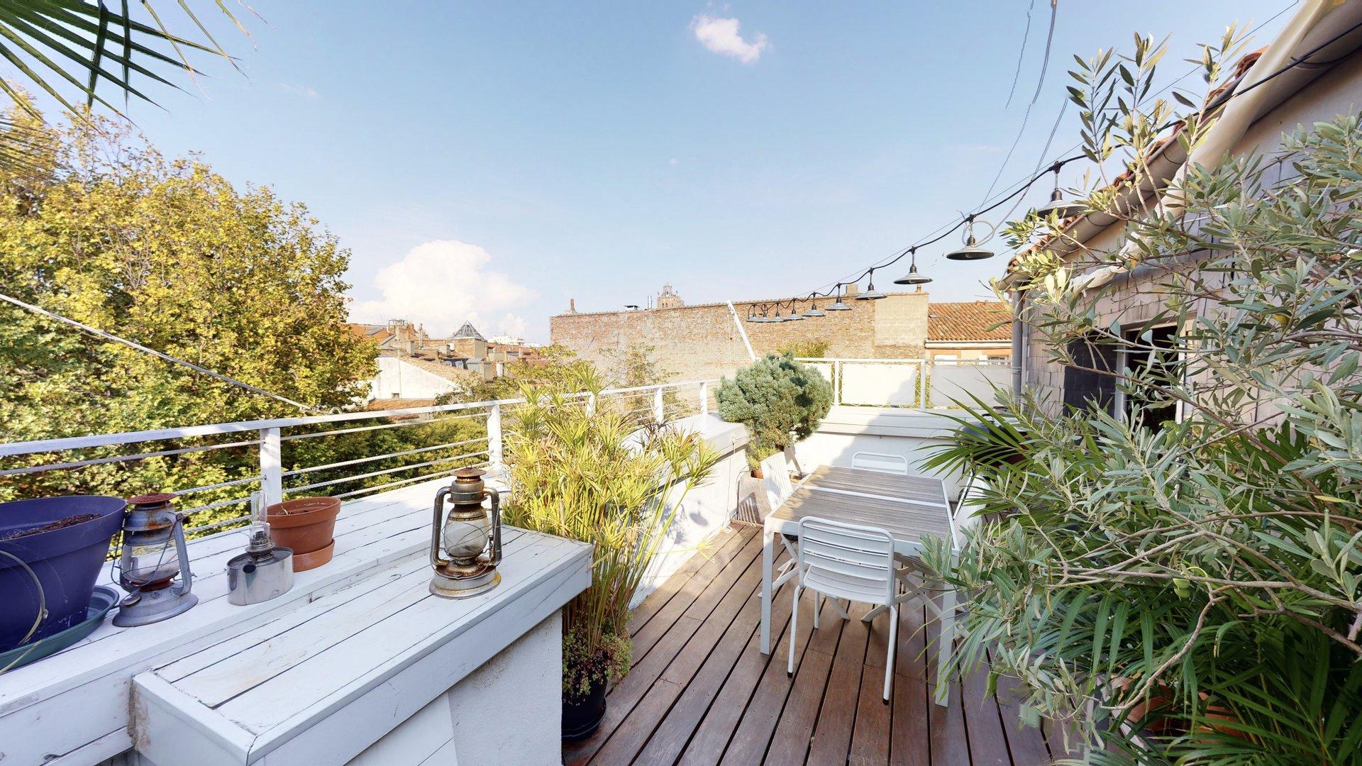 Appartement Toulouse Quartier Saint-Etienne avec Terrasse