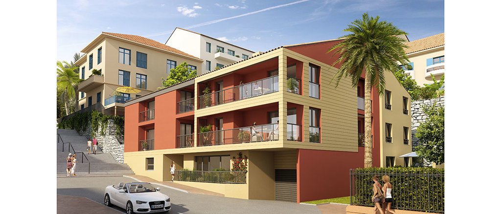 New development in old city of Villefranche-sur-Mer