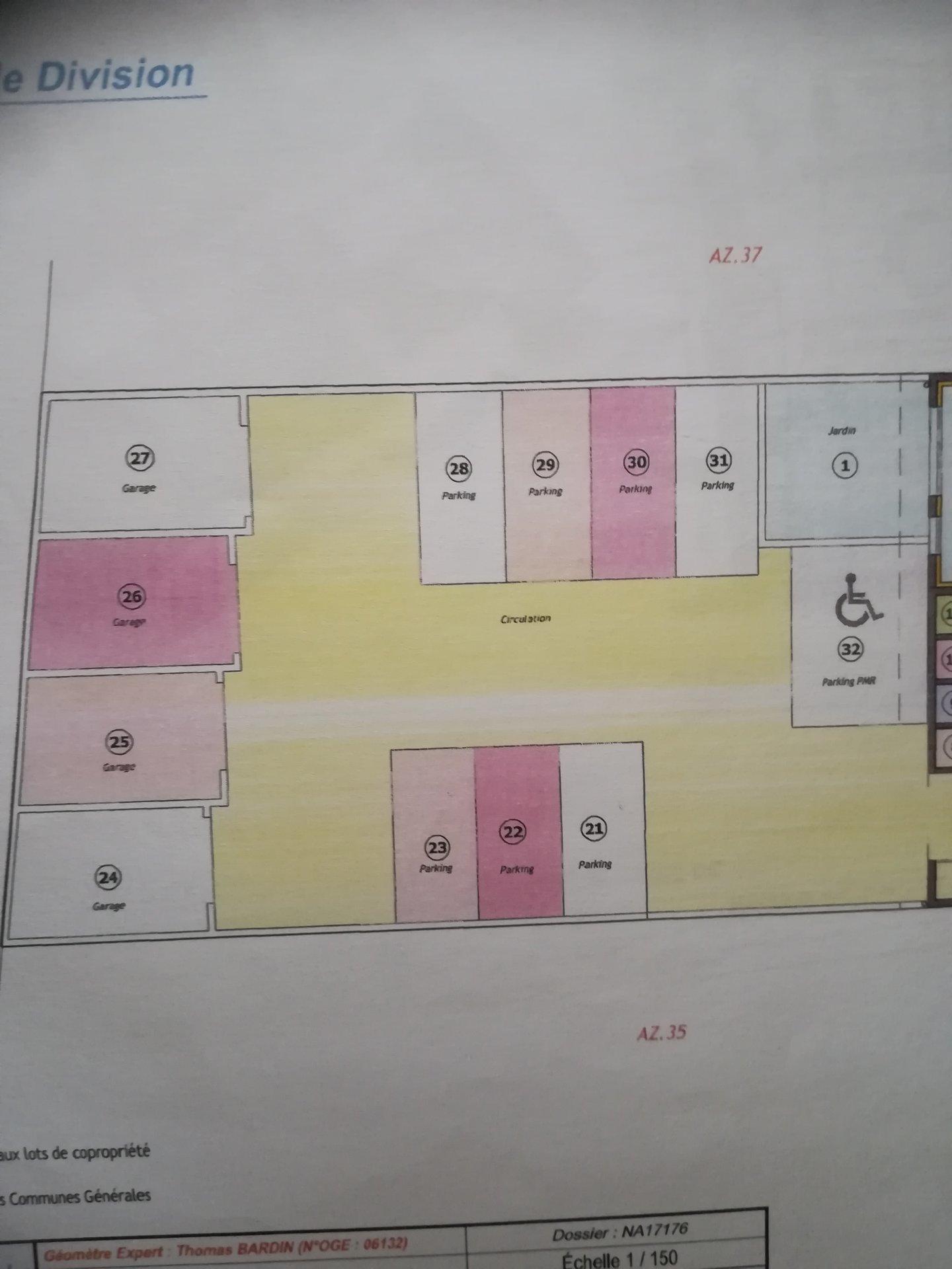 résidence neuve avec ascenseur