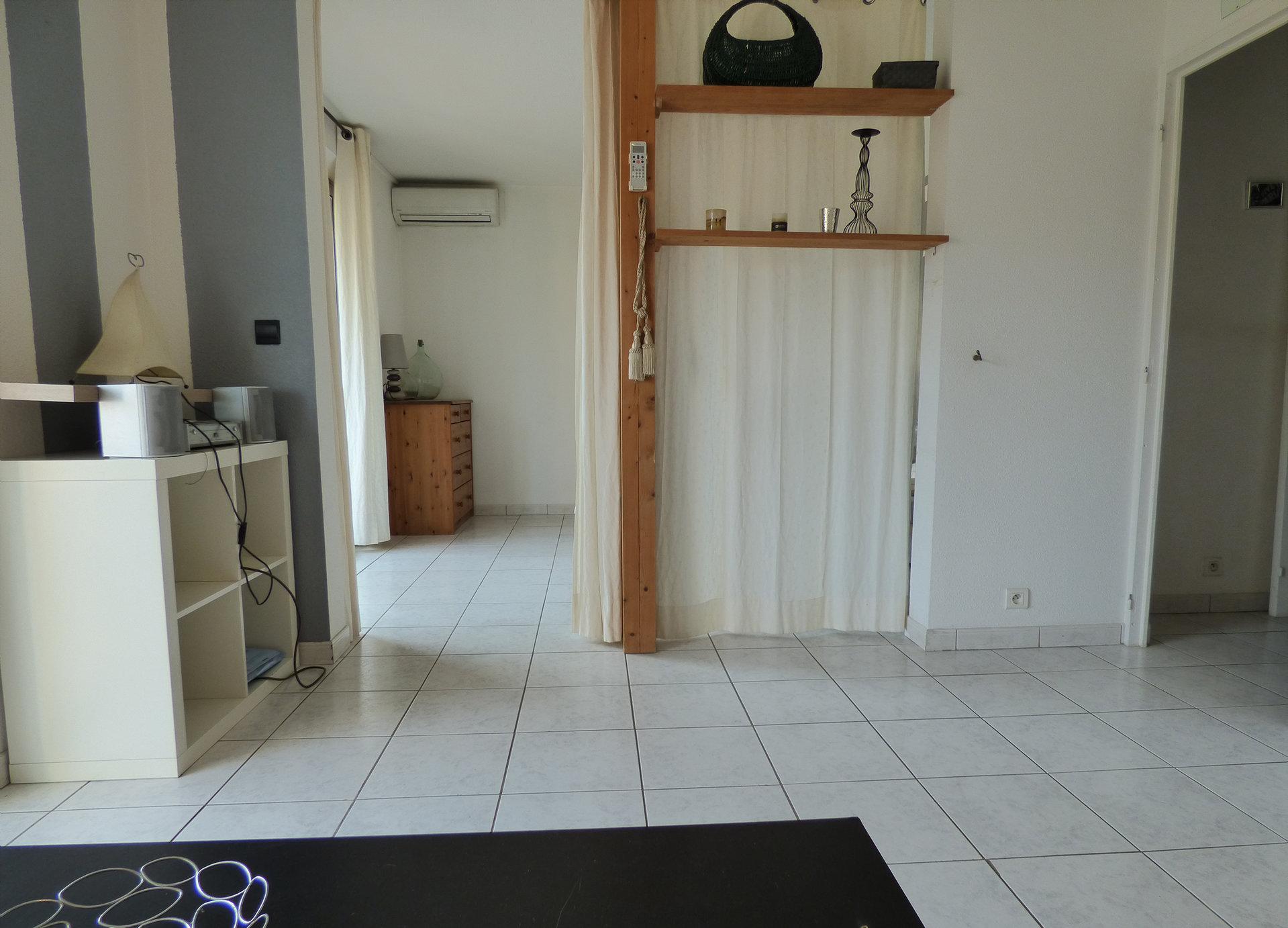 Mandelieu Capitou 2 pièces en étage avec garage