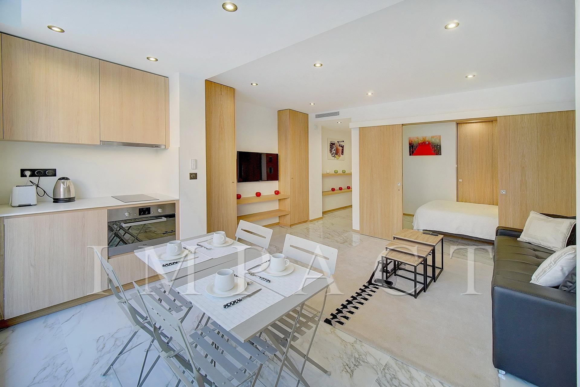 New 1 bedroom apartment to rent , Cannes Croistette