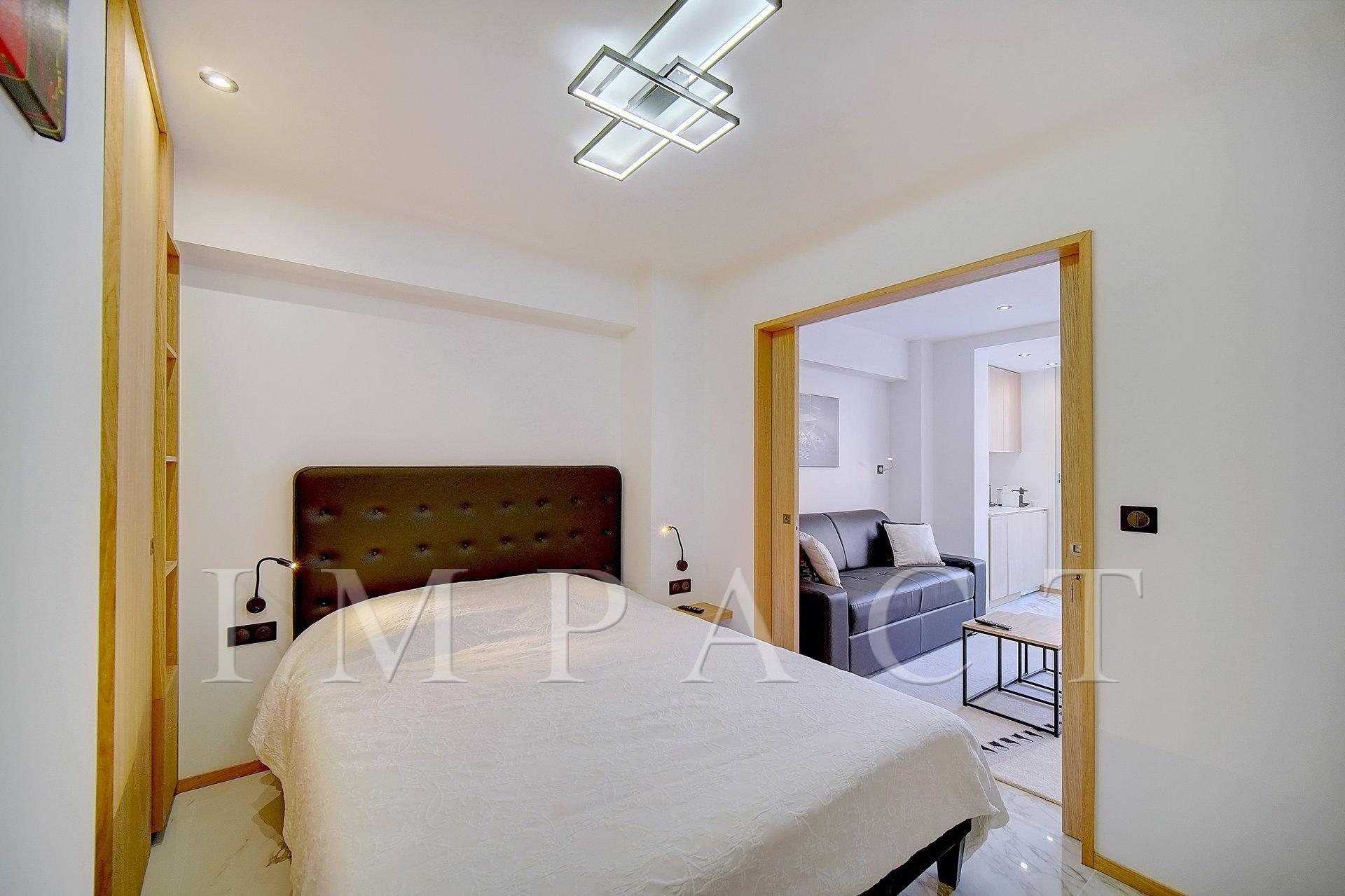 Location saisonnière - Appartement Neuf 1 chambre - Cannes Croisette