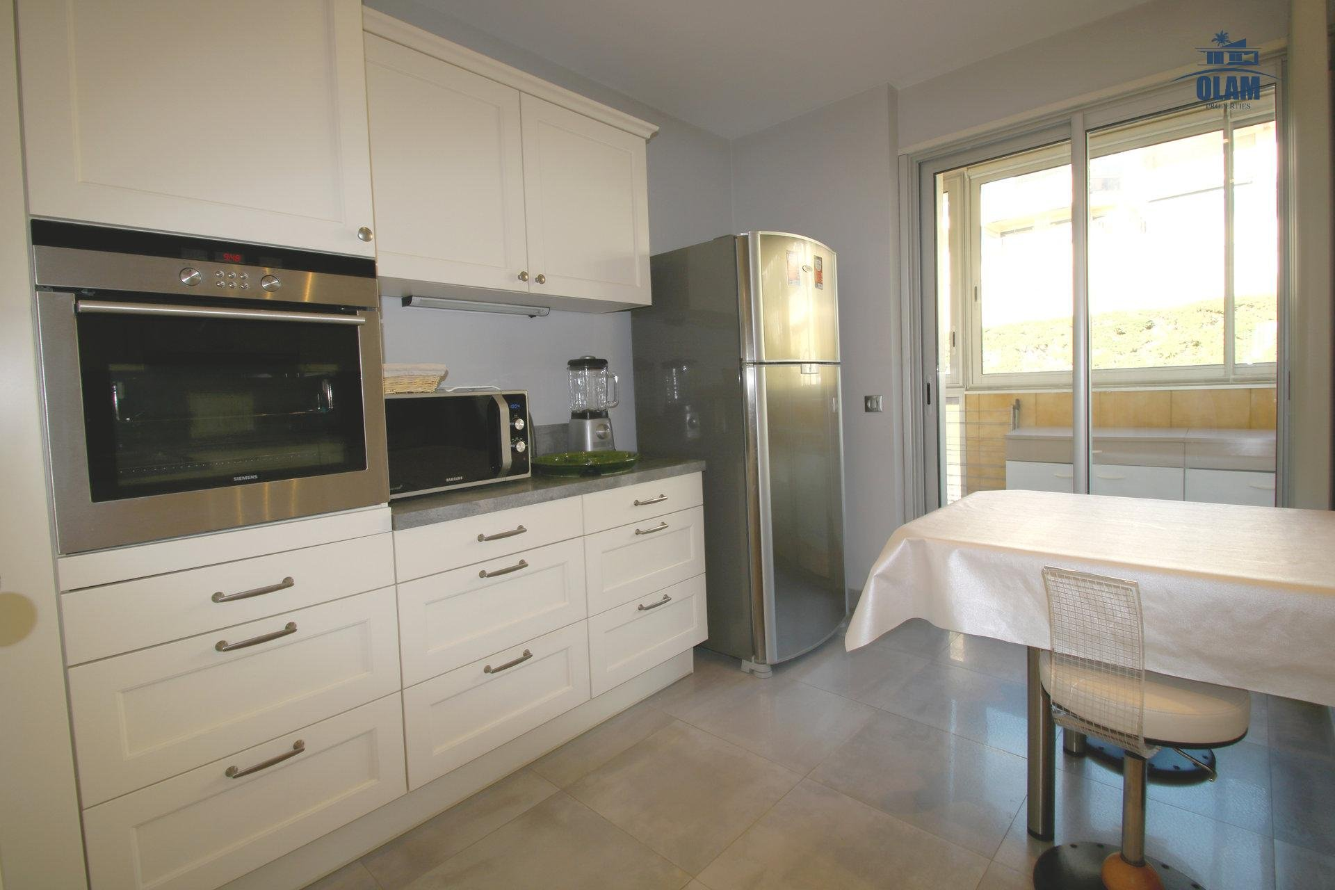 Fully-equipped kitchen, cozy, loggia, Cannes, French Riviera